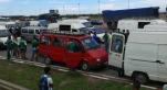 Public du Raja en route pour Rabat