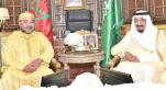 Mohammed VI et le roi Salmane