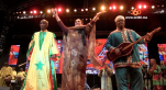 Cover Video - Le360.ma •Les deux familles N'diyaye Rose et Guinea se rencontrent pour un bel hommage au mâalem Mahmoud