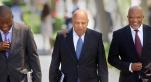 Pravi Gordhan ministre de l'économie et des finances sud-africain est le premier à craindre la dégradation de la note