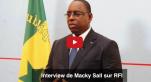 Interview de Macky Sall sur RFI
