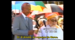 Mandela rend hommage au docteur El Khatib Hassan II nous a donné 5000 livres