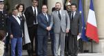 Déjeuner François Hollande Mohammed VI