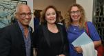 L'artiste Yamou, Khadija Sijelmassi et Fatiha Mourchid