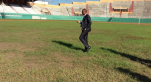 Pelouse du stade F.H. Boigny d'Abidjan