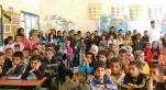 Ecole publique classe surpeuplée