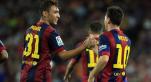 Munir et Messi