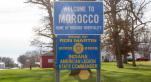 Bienvenue à Morocco, petite ville de l'Indiana