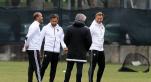 Renard et son staff à Turin