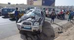 Accident de Papis Gelongal sur l'autoroute à péage