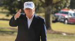 Donald Trump pouce levé