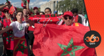 Réactions supporters marocains en Russie