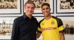 achraf hakimi au Borussia Dortmund