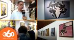 cover Video - Le360.ma •معرض على مدى الجسد للفنان التشكيلي محمد قنيبو