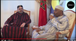Vidéo. Les premières images d'Ali Bongo avec Mohammed VI