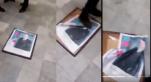 Vidéos. Algérie: un autre portrait de Bouteflika piétiné par des manifestants à Annaba