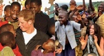 Harry et Meghan en Afrique