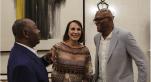 Vidéo. Gabon: Samuel L. Jackson brandit fièrement son passeport gabonais à Libreville