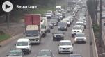 cover Bouchons interminables sur l'autoroute urbaine de Casablanca - la galère des automobilistes au quotidien