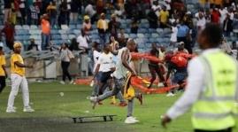 Violence kaizer Chiefs Afrique du SUd