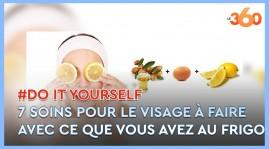 Cover_Vidéo: Do It Yourself Ep11:  7 soins pour le visage à faire avec ce que vous avez au frigo