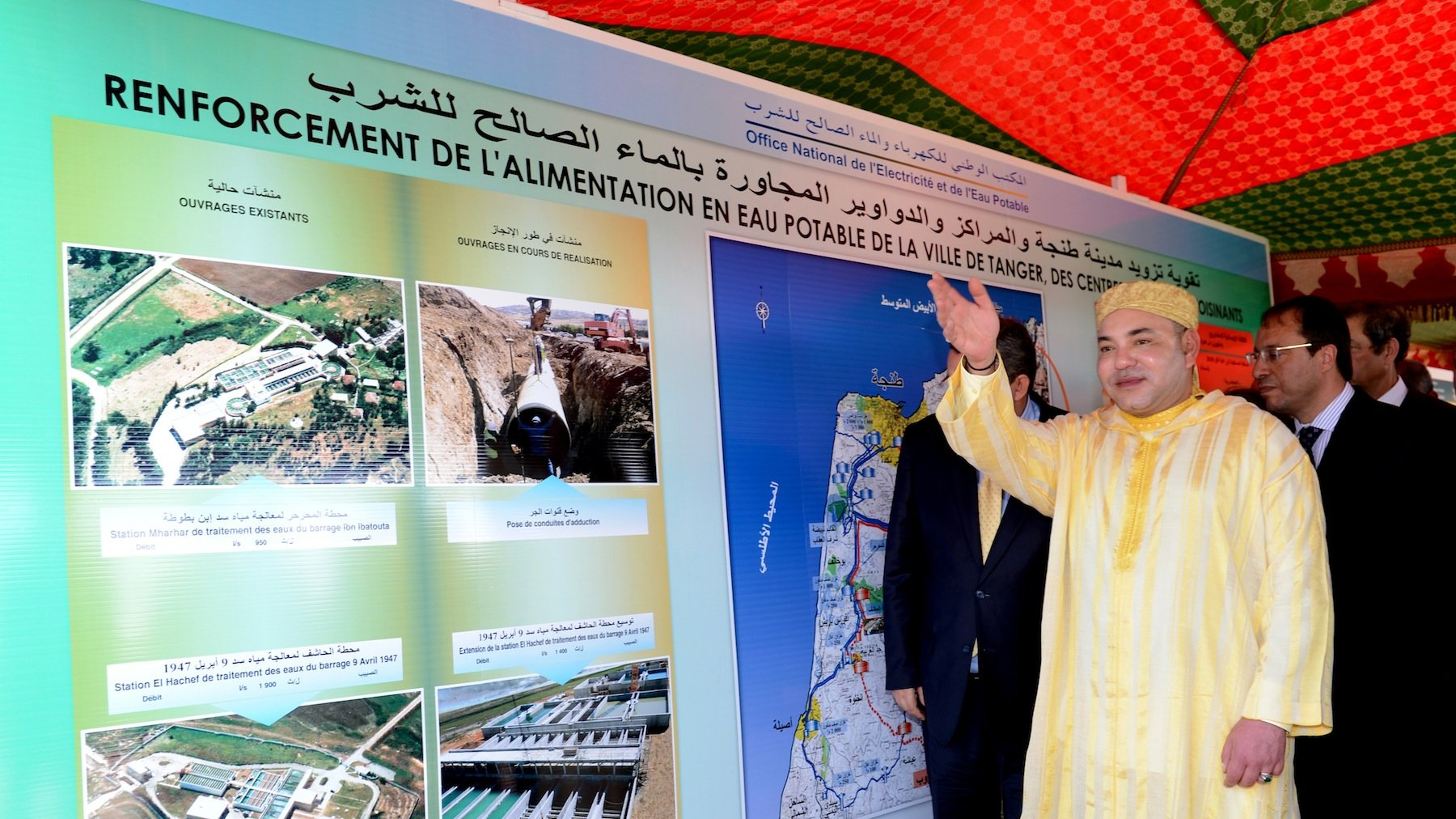 Inauguration royale du tronçon autoroutier Beni Mellal-Khourbiga
