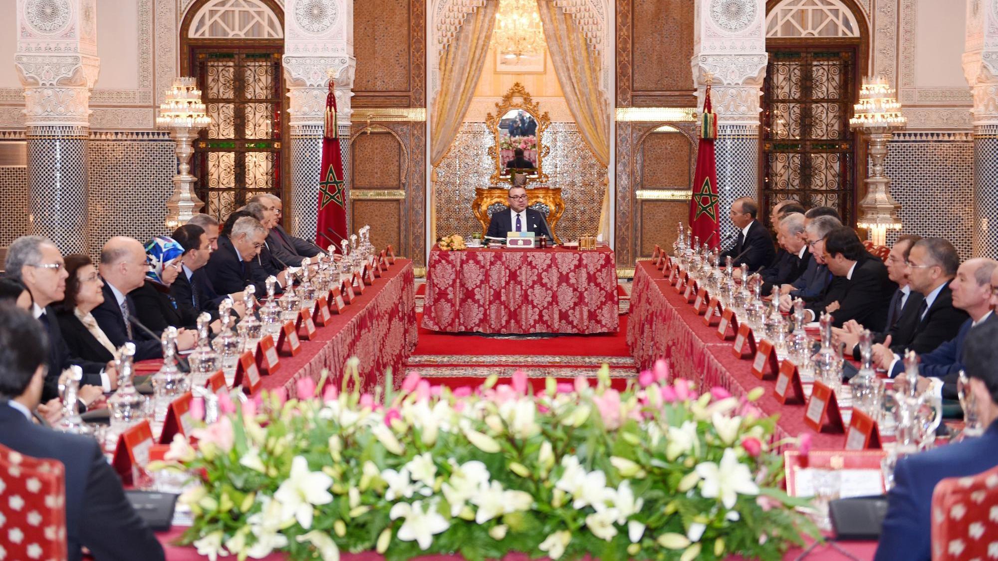 Le roi pr side un conseil des ministres pas de vacances - Cabinet de conseil en developpement international ...