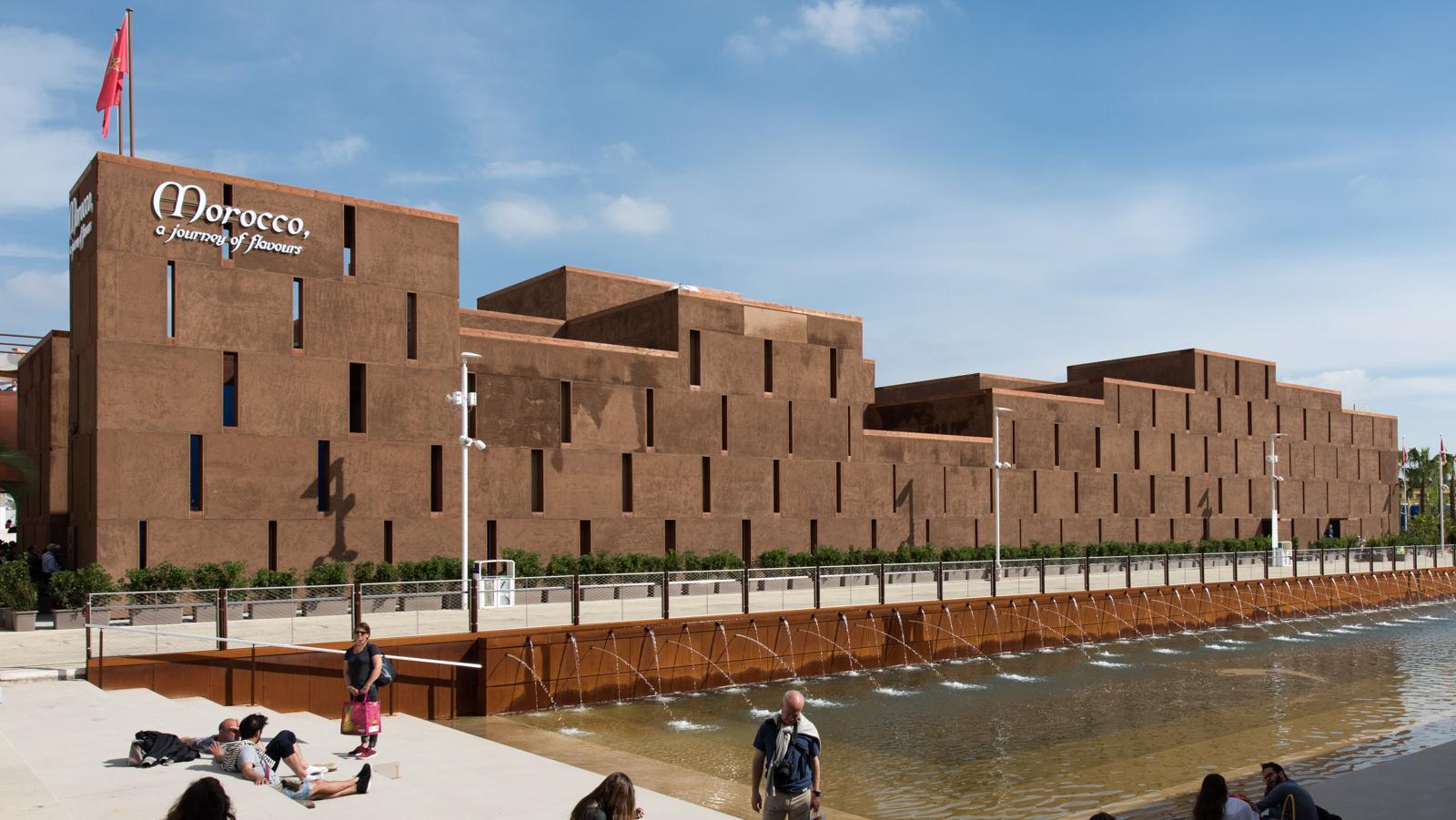 Stands Expo Universelle : Expo milan le maroc dans top des pavillons les