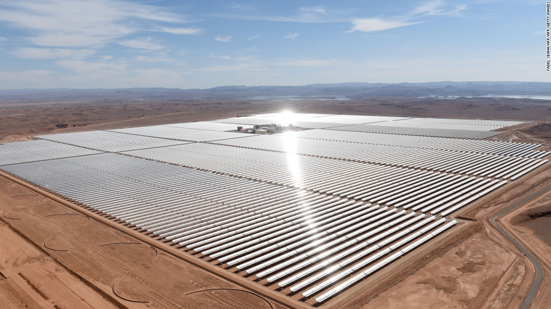centrale solaire Noor Ouarzazate