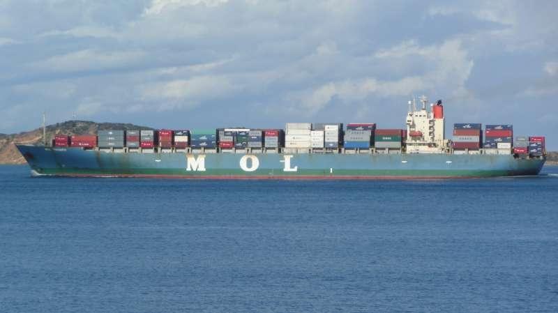 Maritime le plus grand porte conteneur au monde en route vers le maroc - Le plus gros porte conteneur ...