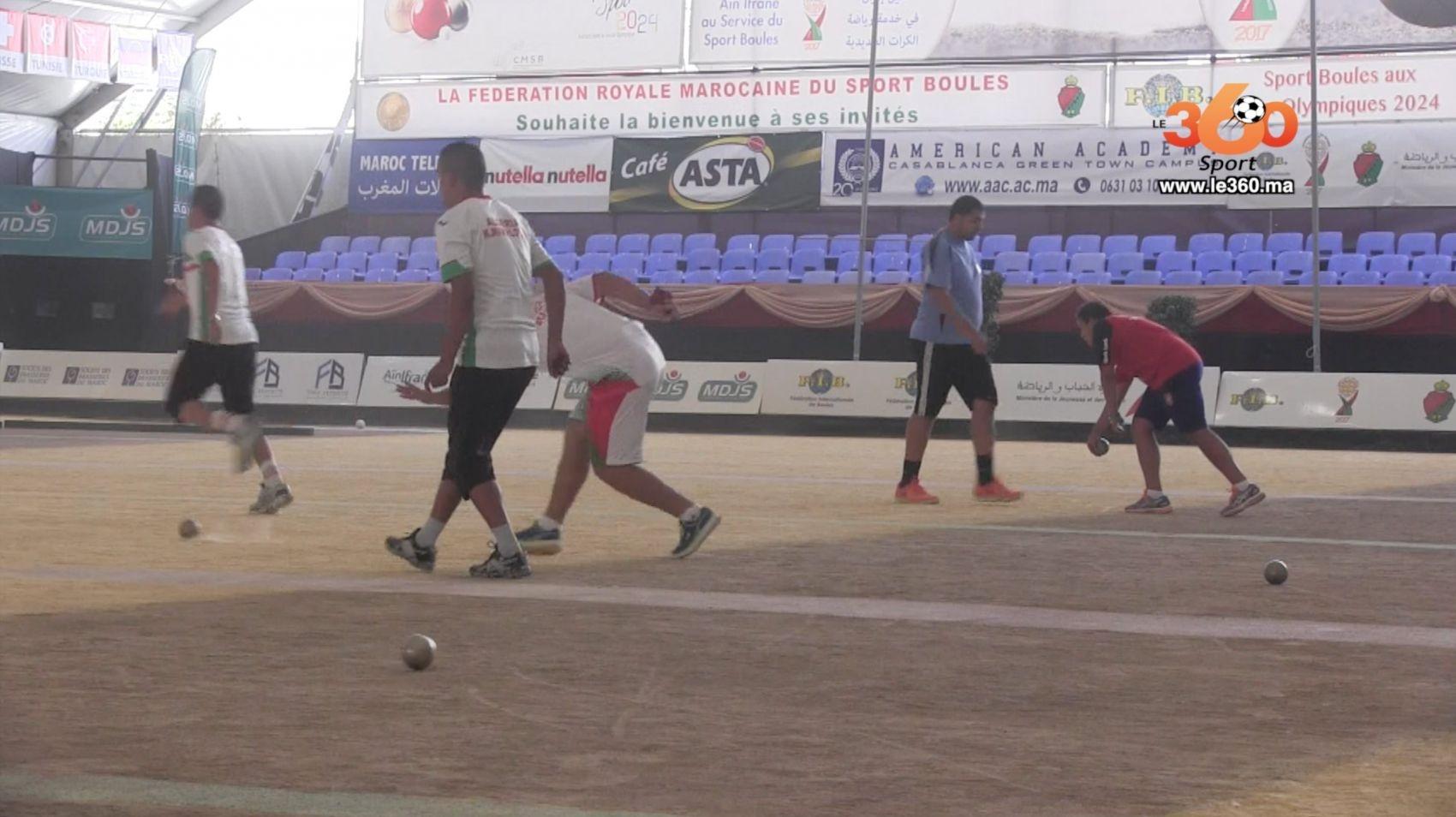 Vid o championnat du monde des boules le maroc sorti en for Championnat du monde de boules carrees