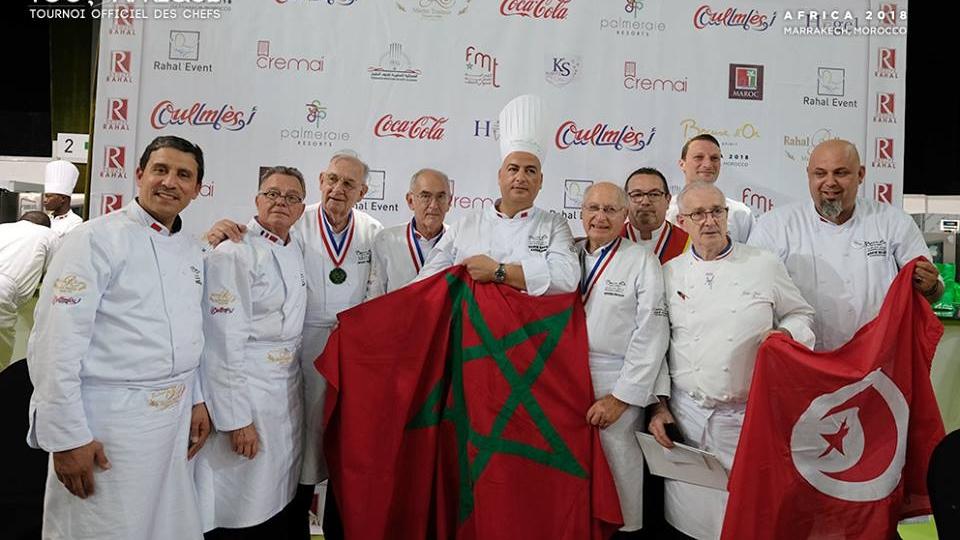 Le maroc remporte la coupe d afrique de p tisserie www - Salon patisserie lyon ...