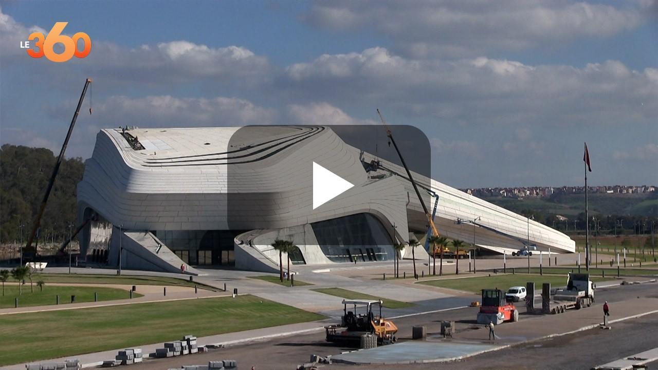Vidéo. 2021 sera l'année de la livraison du Grand théâtre Mohammed VI de Rabat