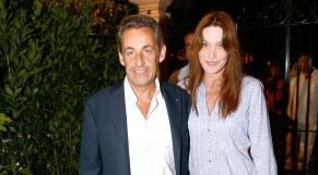 Le couple Bruni Sarkozy