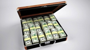 Valise argent
