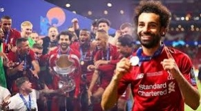 Mohamed Salah champion d'Europe