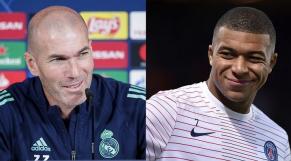 Zidane et Mbappé