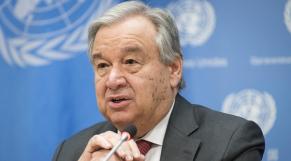 Antonio Guterres - Secrétaire général de l'ONU