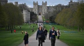Château de Windsor - Fin du Confinement - Grande-Bretagne - Coronavirus - Covid-19