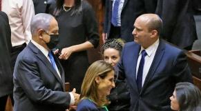 Benjamin Netanyahu - Naftali Bennett - Israël