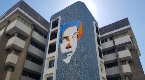 Fresque murale Leïla Alaoui - Technopark - Tanger -