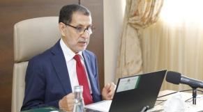 Conseil de gouvernement du 1/7/2021  - Saad-Eddine El Othmani
