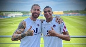 Mbappé et Ramos