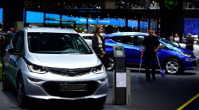 Voiture électrique - Industrie automobile - Opel