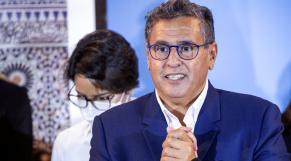 Aziz Akhannouch - RNI - conférence de presse