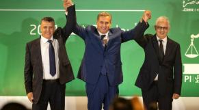 Akhannouch Ouahbi Baraka coalition septembre 2021