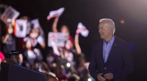 Joe Biden - Etats-Unis - Meeting Californie