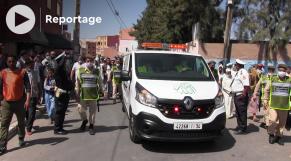cover - enterrement de Hassan Bassou - Ait-Melloul - camionneurs marocains tués au Mali