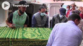 Cover Vidéo -  شاهد لحظة نقل جثمانيْ السائقين المقتولين بمالي من مطار أكادير