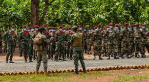 République centrafricaine - Centrafrique - Bangui - 61e anniversaire indépendance